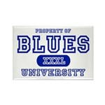 Blues University Rectangle Magnet (10 pack)