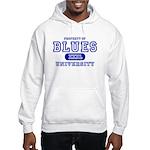 Blues University Hooded Sweatshirt