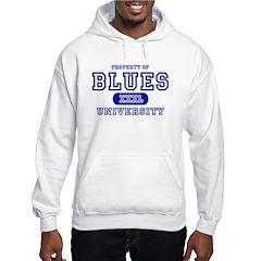 Blues University Hoodie