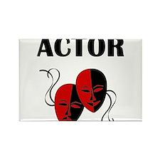 Actor Masks Rectangle Magnet