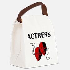 Actress Masks Canvas Lunch Bag