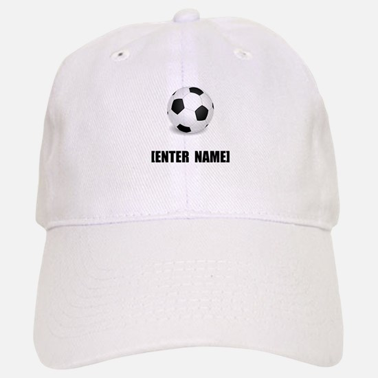 Soccer Personalize It! Baseball Cap