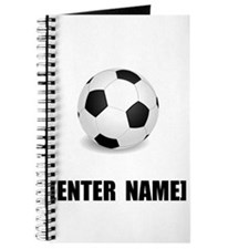 Soccer Personalize It! Journal