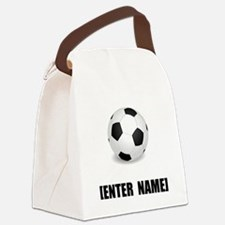 Soccer Personalize It! Canvas Lunch Bag