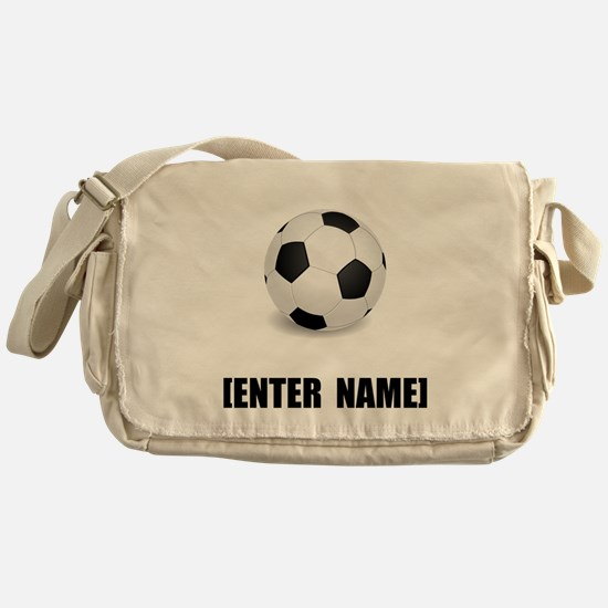 Soccer Personalize It! Messenger Bag