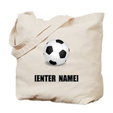 Soccer Personalize It! Tote Bag