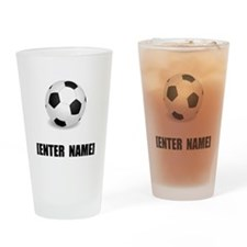 Soccer Personalize It! Drinking Glass