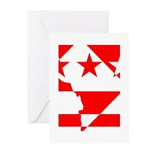 DC Borders Inverted Greeting Cards (Pk of 20)