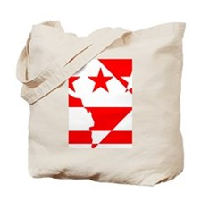 DC Borders Inverted Tote Bag