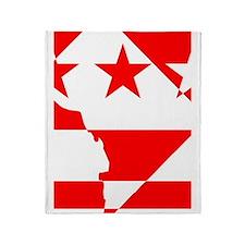 DC Borders Inverted Throw Blanket