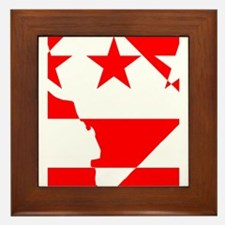 DC Borders Inverted Framed Tile