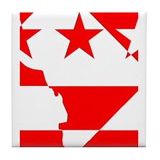 DC Borders Inverted Tile Coaster