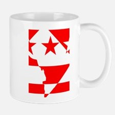 DC Borders Inverted Mug