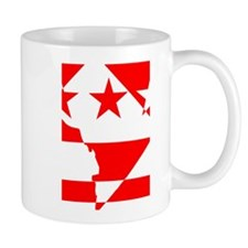 DC Borders Inverted Mug