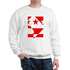 DC Borders Inverted Sweatshirt