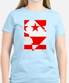 DC Borders Inverted T-Shirt