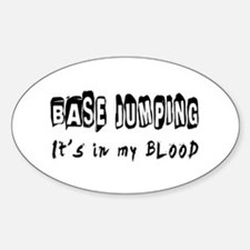 Base Jumping Designs Decal