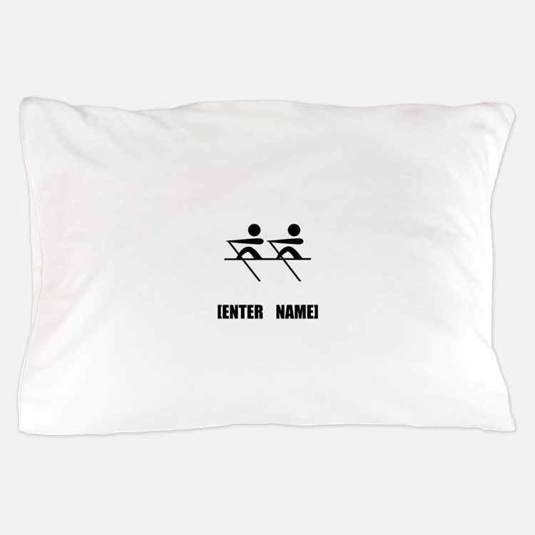 Rowing Personalize It! Pillow Case