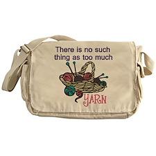 Too Much Yarn Messenger Bag