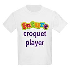 Future Croquet Player T-Shirt