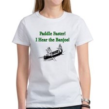 Paddle Faster Tee
