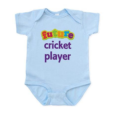 Future Cricket Player Infant Bodysuit
