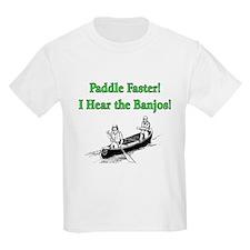 Paddle Faster Kids T-Shirt