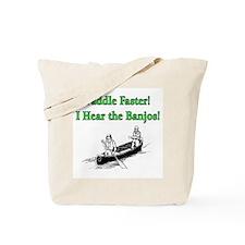 Paddle Faster  Tote Bag