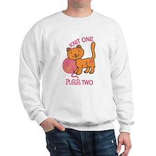 Purr Two Sweatshirt