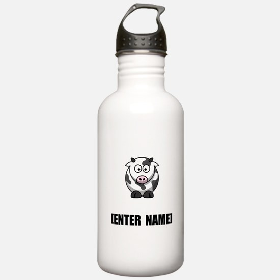 Cow Personalize It! Water Bottle