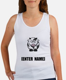Cow Personalize It! Tank Top