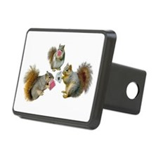 Squirrels Poker Hitch Cover