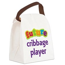 Future Cribbage Player Canvas Lunch Bag