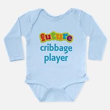 Future Cribbage Player Long Sleeve Infant Bodysuit