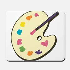 Paint With Love Mousepad