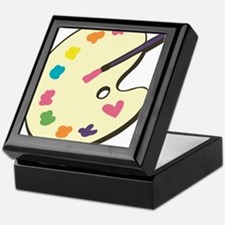 Paint With Love Keepsake Box