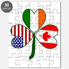 Shamrock of Canada Puzzle