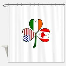 Shamrock of Canada Shower Curtain