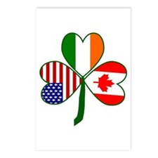 Shamrock of Canada Postcards (Package of 8)