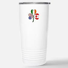 Shamrock of Canada Travel Mug