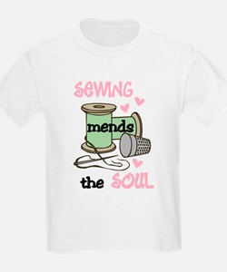 Sewing Mends The Soul T-Shirt