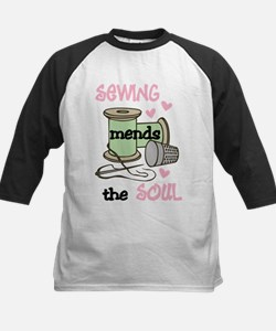 Sewing Mends The Soul Baseball Jersey