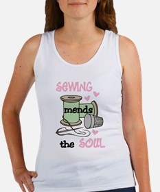 Sewing Mends The Soul Tank Top