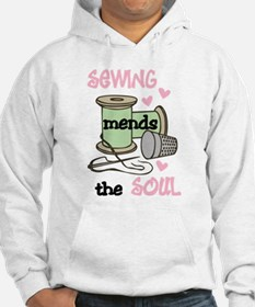 Sewing Mends The Soul Hoodie