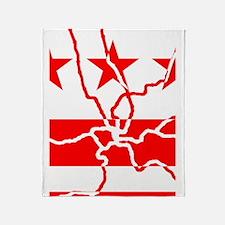 DC Metro Inverted Throw Blanket