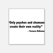 Create reality Terence Mckenna Sticker