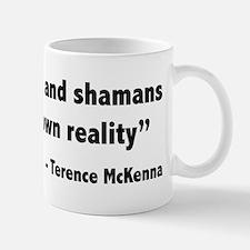Create reality Terence Mckenna Mug
