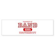 Band University Bumper Bumper Sticker
