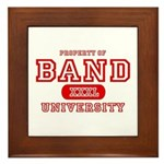 Band University Framed Tile