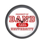 Band University Wall Clock